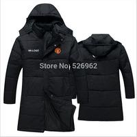 Free Shipping 2014 New Fashion Soccer Outdoor Windproof Waterproof Warm Jersey Football Jacket BASLON MAN-UNIT Coat NK World Cup