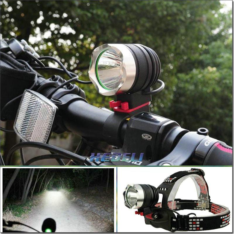 Фара для велосипеда HEDELI 2000 XM L T6 bicicLeta Lanterna HT302HE HT302A2