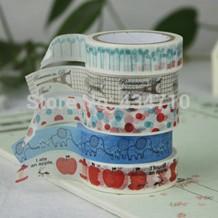 Free Shipping 32 New patterns Hot Sale! Washi Tape/Masking Tape you can choose any patterns as you like 10 pcs/lot(China (Mainland))