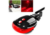High Light LED Bicycle Lasers biking safety accessory