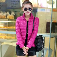 10 Colors New 2014 Woman Coat Fashion Parka down jacket winter warm overcoat jackets NK women clothes hot female plus size XXXL