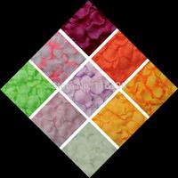 5000pcs  Artificial Silk Wedding Rose Petals For Wedding Party Decoration Carpet Artificial Flowers Petal