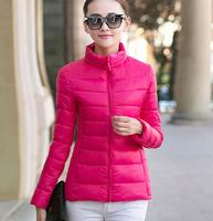 2015 New winter coat female padded cotton jacket woman park korean fashion suit plus size winter coats women short feminino