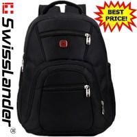 NEW SwissLander Swiss Lander 15.6 inch laptop backpack notebook laptop bag pack travel school backpack for macbook for notebook