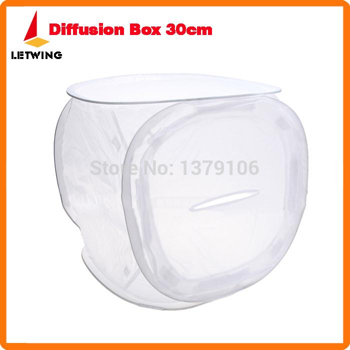 Godox Photo Studio softbox Shooting Tent Softbox Cube Box ,30 x 30cm/photo light tent+portable bag+ 4 Backdrops Free shipping(China (Mainland))