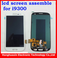 free shipping Original lcd Digitizer screen For Samsung Galaxy S3 I9300 white LCD touch screen Assembly replacement ,+Tool