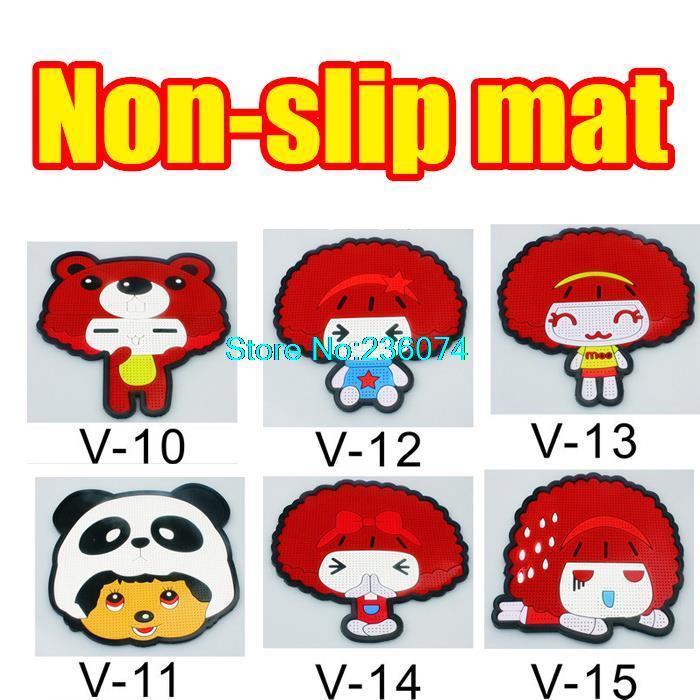 anti-slip mat pad Cute cartoon style, a variety of style super sticky Car phone holder(China (Mainland))