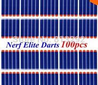 100pcs free shipping Nerf N-strike Elite Rampage Retaliator Series Blasters Refill Clip Darts electric toy gun soft nerf bullet