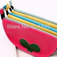 2014 10pcs/lot PVC Multi-fonction Cartoon Pencil bag Case pen pouch bag Cosmetic Case buggy bag Waterproof mouse pad
