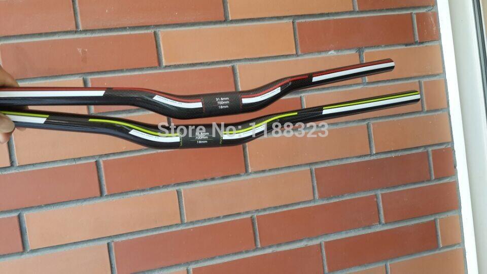 full carbon fibre carbon handlebar riser bike handlebar bike bicycle bar for mtb bike 31 8