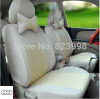 Free shipping  universal  car seat cover  a4 b6 a3  a6 c5  b8 q7 car sticker capa banco carro accessories car pillow auto