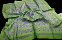100% Mulberry Twill Silk Scarf Square Desinger Brand Women Silk Scarves & Wraps Spain Desigual Shawl Accessories 90x90cm SF0191