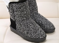 2014 winter hot models plus velvet thick snow boots women boots women casual couple home warm cotton shoes thick crust