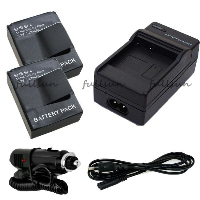 Аккумулятор Fullsun 1600mAh hero3 hero3 + ahdbt/301, 302, + akku 3 3+ 301 201 AHDBT-301 зарядное устройство для фотокамеры new ahdbt 301 302 2 usb gopro hero 4 3 3 ahdbt401c