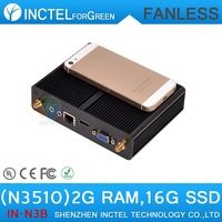 Pentium N3520 Quad Core 2.166Ghz XBMC OpenELEC fanless nuc mini pc with WiFi HDMI USB 3.0 2G RAM 16G SSD Windows linux SOC BTY