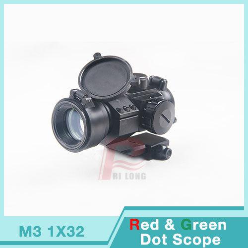 Винтовочный оптический прицел Rilong 3 1 X 32 /ap Aimpoint ht5/0011 1X32 Red&Green&Blue оптический прицел 3 9x42ce купить в спб