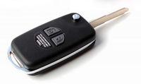 Folding Remote Key Case Shell for SUZUKI SX4 Swift 2 Button Flip with Button Pad