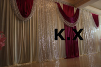 Wedding Backdrop Drape With Backdrop Pipe Stand