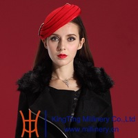 Free Shipping Women Fascinator Hat Hair Ladies' Hair Accessories Fashion and Elegant Special Party Gift 2014 Winter Coat