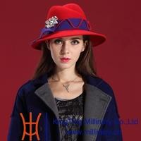 Winter Hats for Women 2014 Wool Felt Hat Natural 100% Wool with Korean Tide Handmade Leisure Fashion