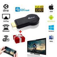 EZCast miracast dongle better than google chromecast ezcast m2 mk808 rk3288 rk3188 rtl2832u r820t support airplay miracast ipush
