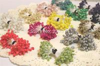 DF021 wholesale Multicolor DIY Glass flower stamen cake decoration and DIY pistil stamen(1040pcs/Lot )