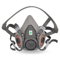 mask main body half mask dust respirator masks gas mask accessories 3m6200 free shipping