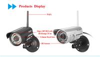 Sricam Wireless IP Network Camera Outdoor Security WIFI Webcam CCTV Night Vision IR Web cam AP003