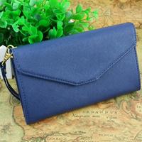 Wholesale High quality Korean style women clutch bag , fashion pu leather women wallets femal purse phone cases