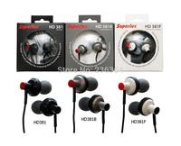 New arrival Superlux hd381f 3.5mm Stereo In-ear Monitoring Headphones MP3 Music Portable Audio Headphone & Earphone hd381f