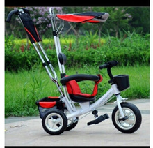 Free shipping Multi-function push tricycle baby stroller child bicycle stroller midrange(China (Mainland))