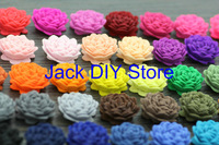 "51colors 102pcs/lot Free Shipping 1"" Tiny Felt Flowers Rose without clips Baby Hair Accessories Kids Accessories YOU PICK COLORS"