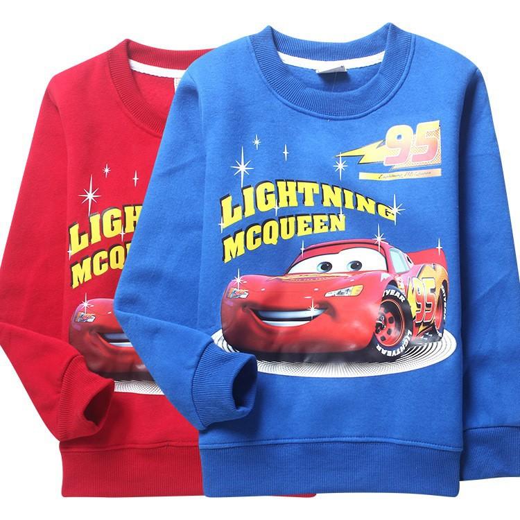 new 2015 high quality clothes set winter Autumn wholesale 8-16years kid cartoon cars keep warm Fleeces Boy high quality clothing(China (Mainland))