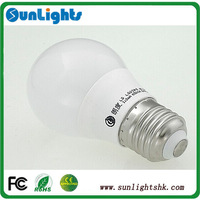 Dimmable led bulb 2835, 5630 high quality LED lights 3w, 4w E27 B22 E14 lamp Warm White / Cool White AC 220V-240V CE UL