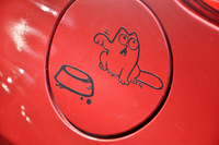 Bowl Cat Decal Vinyl Sticker Car iPad Laptop Window Bumper Funny Car Stickers Car Styling Car Sticker Decoration Decals