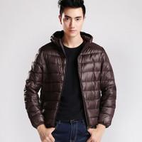 Men's Winter Jacket Down Parkas Men Brand Down short casual parka jacket plus size XXL  PA-817