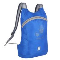 Free fast shipping outdoor folding skin package ultralight hiking backpack package waterproof bag