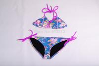 hot selling NEOPRENE BIKINI Superfly Swimsuit Bottoms Neoprene  one set include top and bottom 882883