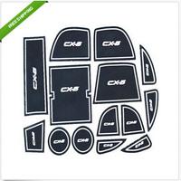 For 2012 2013 Mazda CX-5 CX 5 Non-Slip Interior door pad/cup mat for Mazda CX-5 CX 5 auto accessories