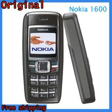 Original Nokia 1600 Cell Phone Dual band GSM Unlocked Phone, GSM 900 / 1800