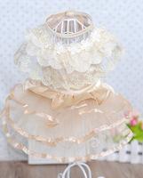 Factory direct, wholesale pet supplies , pet house pet dog clothes wedding dress Parfait