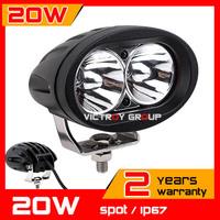 20W LED Work Light Spot Tractor ATV Motorcycle 12v 24v IP67 Offroad Fog light LED Spot Worklight External Light Seckill 10w 18w