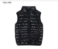 New Winter White Duck Down Coat Jacket Women Warm 6 Colors Womens Parkas Collar Slim Sleeveless Parka Zipper Casual Coats