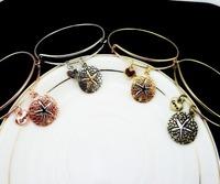 2014 Hot Sale Alex and ani Bracelets&Bangles Expandable Bracelet women 4colors Starfish bracelet For Women