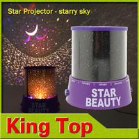 Christmas light Romantic 4LED lamps Beauty Sky Master Moon Dreamlike night lights stars moon with you Artless lighting