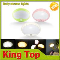 New years gift lamps Dreamy Night lights Motion Sensor PIR Intelligent LED Human Body Induction White/Warm White lighting