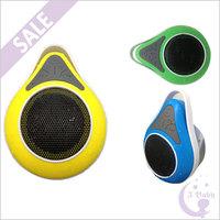 2686 Sucker Waterproof Portable Mini Wireless Bluetooth Speakers Hi-Fi Music Player with Handsfree for Smartphone iPhone 6 Plus