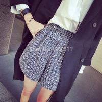 Энн 2015 новых летних женщин кофточка с короткими рукавами Блузки из шифона рубашку d0039