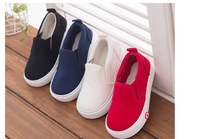 2014 new children boys kids fashion&classic star style Solid canvas Breathable soft Sneakers shoes for Spring/Autumn size 25-30