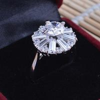 New Arrival Fashion High-grade Quality Women Zircon Pop Ring Hot Sale JZ013